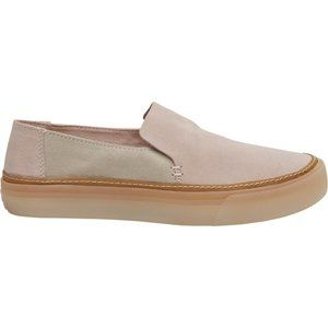 TOMS Suede Sunset Slip On Sneakers Pink 5 NWT